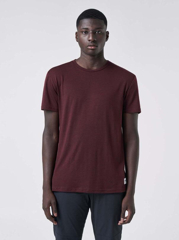 DAG Men's T-shirt - Rusty red melange